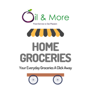 Home Groceries online grocery shopping Logo