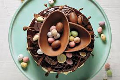 Mocha Easter Cake 1